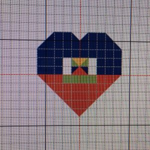 Haiti Heart Pattern
