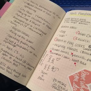 Haiti Bullet Journal
