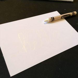 White Crayon