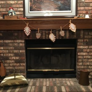 Fall Banner Fireplace