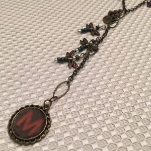 M Dragonfly Necklace