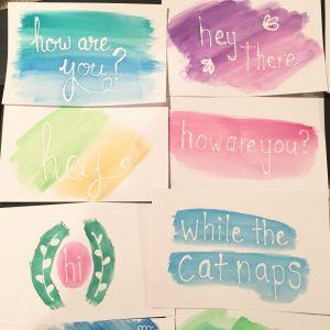 Postcards Closeup