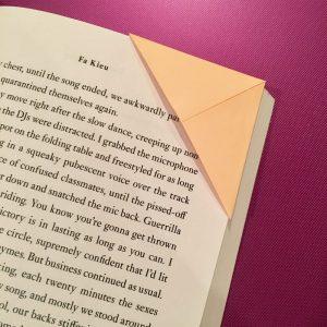 Origami Bookmark 1