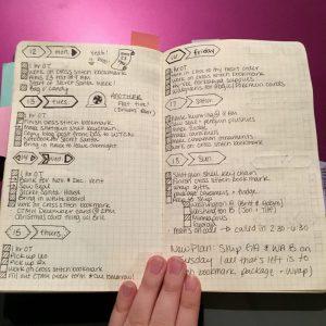 Bullet Journal 4
